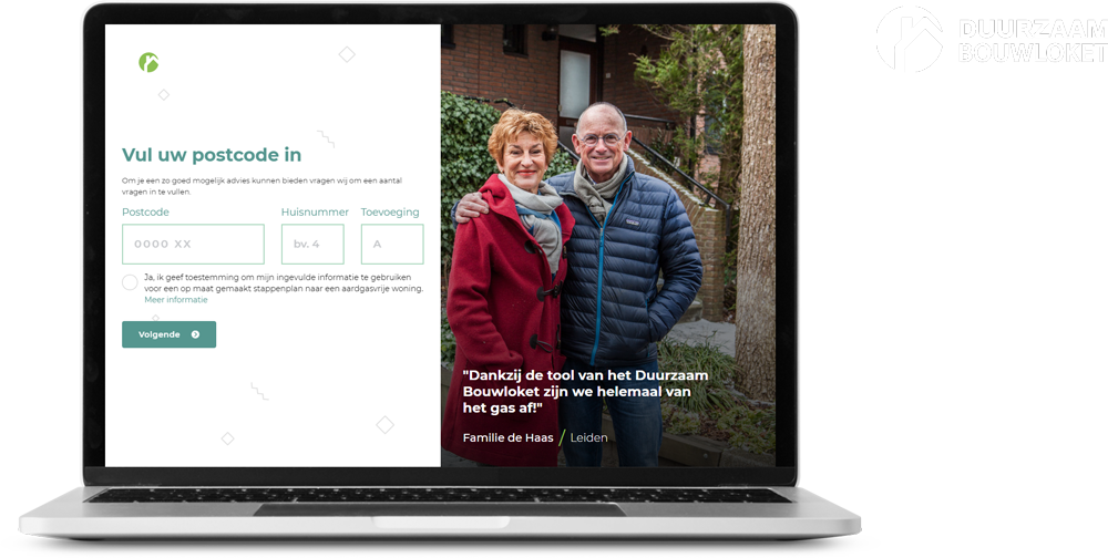 Duurzaamheidsloket - Woningplanner